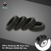 4Pcs Original WLtoys K989-53 Tire for WLtoys K979 K989 1/28 Scale RC Car
