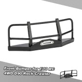 Metal Front Bumper for 1/10 RC4WD D90 Axial SCX10 RC Rock Crawler