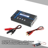 Original Power Genius C606 Balance Charger/Discharger 60W with Lipo Battery Resistance Test Function for LiPo Li-ion LiFE NiCD NiMH Pb RC Battery