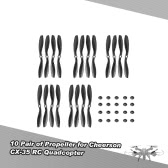 10 Pair of CW/CCW Propeller for Cheerson CX-35 RC Quadcopter
