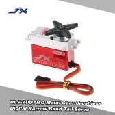 JX BLS-7007MG Metal Gear Brushless Digital Narrow Band Tail Servo for RC 550-700 Airplane Helicopter