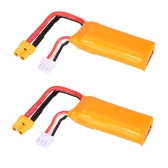 2 Pcs Original GoolRC 7.4V 2S 450mAh LiPo Battery XT30 Plug for GoolRC G90 Pro Tiny Micro 80 90 100 FPV Racing Quadcopter