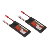 2pcs ZOP Power 7.4V 610mAh 15C Lipo Battery JST Plug Part for Hubsan H502E H502S RC Drone Quadcopter