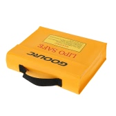 GoolRC 24 * 18 * 6.5cm Golden High Quality Glass Fiber RC LiPo Battery Safety Bag Safe Guard Charge Sack