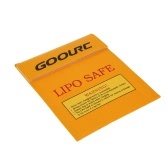 GoolRC 22 * 18cm Golden High Quality Glass Fiber RC LiPo Battery Safety Bag Safe Guard Charge Sack