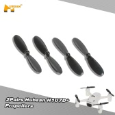 2 Pairs Original Hubsan H107D+-02 Propellers for Hubsan H107 Series QX90 QX95 100mm 110mm Micro FPV Quadcopter 7020 8520 Coreless Motor