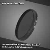 PGY ND8 Filter Lens for DJI OSMO X3 Handheld Gimbal and Inspire 1 RC Quadcopter