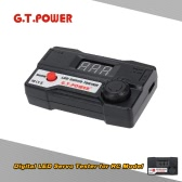 G.T.POWER Digital LED Servo Tester for RC Aircraft Helicopter Car Servo