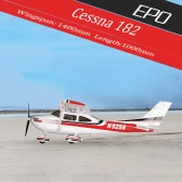 Original Sonicmodell 1400mm Wingspan Cessna 182 500 Class EPO Fixed-wing Airplane PNP Version RC Aircraft (with ESC, Motor, Servo )