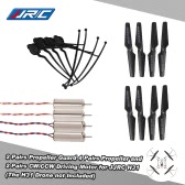 Original JJRC H31 Spare Part 4 Pairs Propeller 2 Pairs CW/CCW Driving Motor and 4 Pcs Propeller Guard for JJRC H31 and GoolRC T6 RC Quadcopter