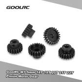 Original GoolRC M1 5mm 18T 19T 20T 21T 22T Shaft Steel Pinion Motor Gear Combot Set for 1/8 Off-road Buggy Monster Truck RC Car Brushed Brushless Motor