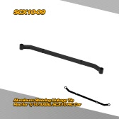 SCX10-09 Upgrade Part Aluminum Steering Linkage Tie Rod for 1/10 AXIAL SCX10 4WD Electric SCX10 Jeep Wrangler