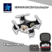 Original Cheerson CX-10C 2.4G 6-Axis Gyro 0.3MP Camera RTF Mini Drone Quadcopter & Nylon Box