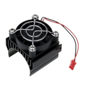 7020 Motor Heat Sink With Cooling Fan for 1/10 HSP RC Car 540/550 3650 Motor
