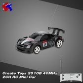 Original Create Toys 2010B 40MHz 2CH RC Mini Car