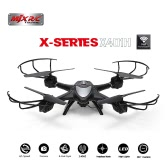 Original MJX X401H Wifi FPV 0.3MP HD Camera RC Quadcopter with Dual Mode Altitude Hold 3D Flip Helicopter RTF