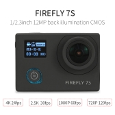 Original Hawkeye Firefly 7S 12MP 4K FPV Sport WiFi Camera for QAV250 Walkera G-2D DJI Zenmuse H3-3D of F450 F550 RC Quadcopter