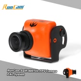 Original RunCam Swift 600TVL FPV PAL Camera 2.8mm Lens & Base Holder IR Blocked for QAV250 180 210 RC Quadcopter