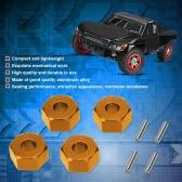 SLA016 Aluminum Alloy 12mm Wheel Hex Mount & PIN for 1/10 TRAXXAS SLASH 4x4 RC Car