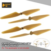 2 Pairs Original Hubsan H501S-05G / H501S-06G CW / CCW Propeller Blade  RC Part for Hubsan H501S RC Quadcopter