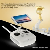 Magnetic Ipad/Cellphone Suction Cup for DJI Phantom 3 Standard Professional Advanced Version Phantom 4 Monitor Remote Controller