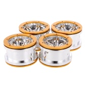 4Pcs AUSTAR AX2011BU 2.2 Inch Hub for 1/10 Rock Crawler Redcat SCX10 AXIAL RC4WD TF2 RC Car
