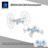 Original Cheerson CX-10 2.4G 6-Axis Gyro RTF Mini Drone with Upgraded Protective Part