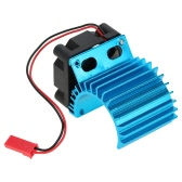 7016 Motor Heat Sink With Cooling Fan for 1/16 HSP RC Car 380 Motor