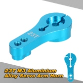 23T M3 Aluminium Alloy Servo Arm Horn for 1/10 1/8 RC Car