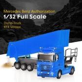 RUICHUANG QY1101C 1/32 2.4G Electric Dump Truck RTR RC Car