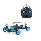 Original JJRC H23 2.4G 4CH 6-Axis Gyro Air-Ground Flying Car RC Drone RTF Quadcopter with 3D Flip One-key Return and Headless Mode