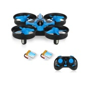 JJRC H36 2.4G mini RC Quadcopter Two Battery combo