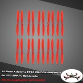 10 Pairs Kingkong 5040 CW/CCW Propellers for QAV250 280 RC Quadcopter