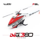 Original ALZRC Devil 380 FAST Flybarless Belt Drive 6CH 3D Helicopter Kit