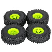 4Pcs AUSTAR AX-5020C 1.9 Inch 120mm Tires with Hub for 1/10 Traxxas Redcat SCX10 AXIAL RC4WD TF2 Rock Crawler