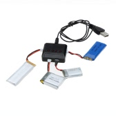 High Quality X4 Mini USB Charger 4 Port for Hubsan H107 Quadcopter/Wltoys Helicopter/Syma X5C/UDI U816 UFO