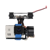 CNC FPV Quadcopter BGC 2 Axis Brushless Gimbal w/ Controller for GoPro 3 Camera DJI Phantom 1 2 Walkera X350 Pro