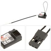 2Pcs Flysky FS-GR3E AFHDS 2.4G 3CH Receiver for GT3B GT2 GT3C Transmitter