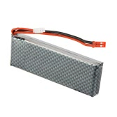 7.4V 2200mAh 25C 2S Lipo Battery with JST Plug for Skyzone SKY-700D FPV Diversity Monitor