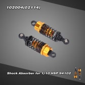 102004(02114) Upgrade Parts Aluminum Shock Absorber for 1/10 HSP 94102/94103 On-road Car