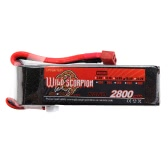 Wild Scorpion 18.5V 2800mAh 30C MAX 40C 5S T Plug Li-po Battery for RC Car Airplane Helicopter Part