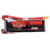 Wild Scorpion 11.1V 2200mAh 70C MAX 80C 3S XT60 Plug Li-po Battery for RC Car Airplane T-REX 450 Helicopter Part