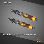 106004 Upgrade Parts Aluminum Alloy Shock Absorber Shock Damper Suspension for 1/10 HSP 94106 Warhead Off-road Buggy Car