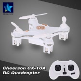 Cheerson CX-10A 2.4GHz 4CH RC Quadcopter NANO Drone UFO with Headless Mode