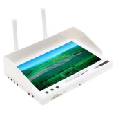 RC732-DVR All-in-one 7in 800*480 HD LCD FPV Monitor Built-in Battery and 32CH 5.8G Wireless Diversity Receiver
