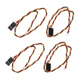 GoolRC 4 Pcs FPV Image Video Line / Cable for Sony 700 TVL CCD Camera