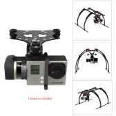 FeiYu Tech New  Version 2-Axis Mini  Brushless 2D Gimbal for Gopro Hero 3 3+ Gopro Hero 4 Aerial Photograrhy