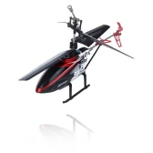 """7.5"""" Mini 3.5 CH Channel Ultralight Infrared RC Helicopter With Gyro Colorful Light Kids Toy Gift Red"""