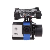 CNC Brushless Gimbal Camera Mount with Motor & Controller FPV PTZ for Gopro3 3+ DJI Phantom ST-303