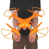 Syma X8W 2.4G Wifi FPV RC Quadcopter - Orange - RTF
